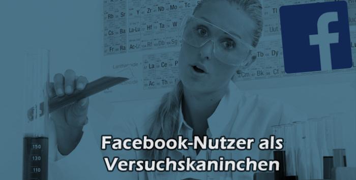 Facebook experimentiert