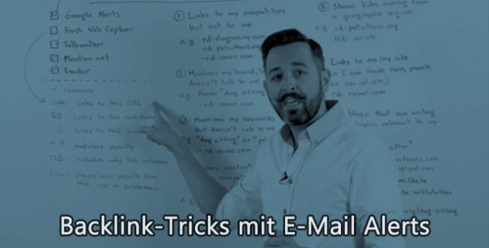 SEO mit E-Mail Alerts
