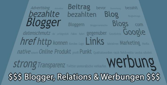 Werbung auf Blogs
