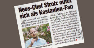 Matthias Strolz teilt Einläufe mit Wählerschaft