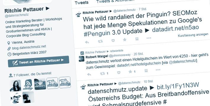 Twitternutzung in Österreich