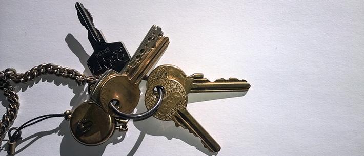 Passwörter sind wie Schlüssel.