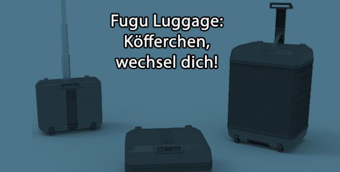 Fugu Luggage: Der aufblasbare Koffer