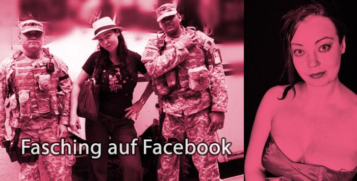 Fasching und Valentinstag auf Facebook