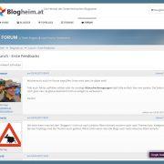 Blogheim.at | Wo Österreichs Blogger zuhause sind [Community-Launch]