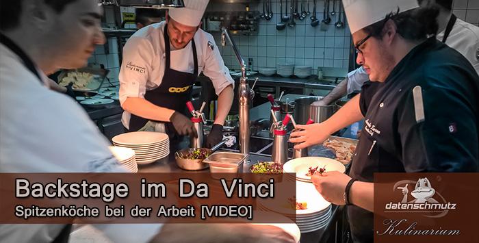 Sieben Gänge backstage: Kochprofis bei der Arbeit