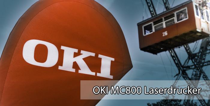 OKI MC800 Multifunktionsdrucker