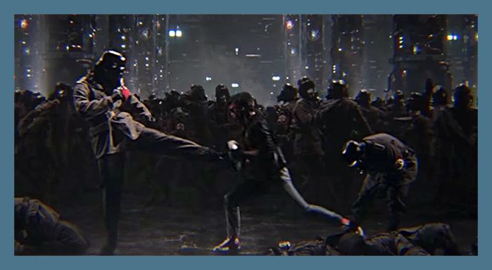 Kung Fury - Nazi Sidescrolling
