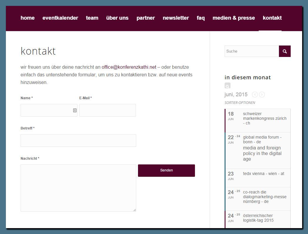 konferenzkathi.net - der Business-Eventkalender für den deutschsprachigen Raum [LAUNCH!]