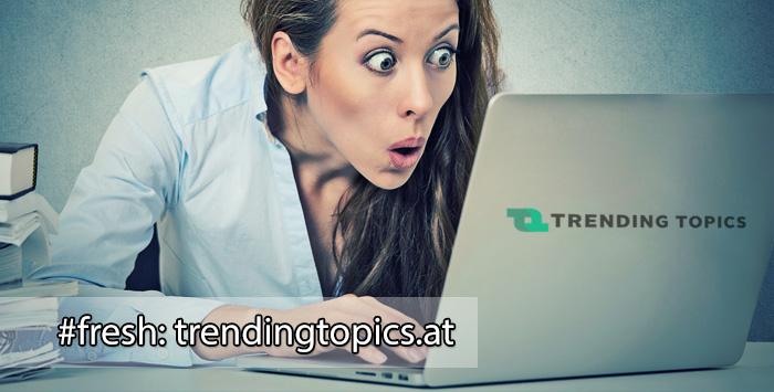 Trendingtopics.at - Newsportal für Digitalisten (Und was teilt Österreich wie wild?)