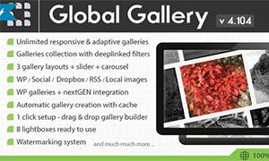 Global Gallery | | Premium WordPress Plugin