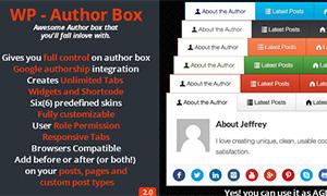 Author Box Pro | | Premium WordPress Plugin