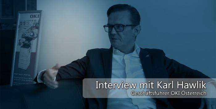 Interview mit Karl Hawlik, OKI Österreich
