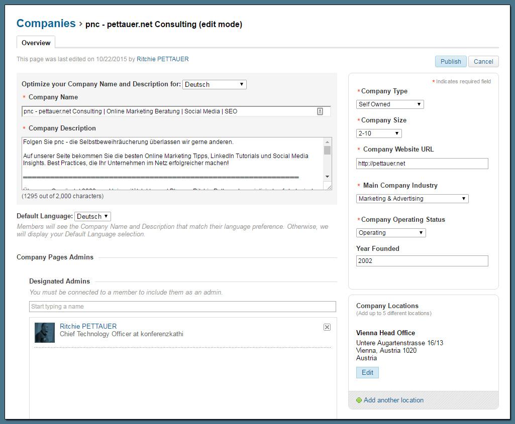 LinkedIn Company Pages einrichten: Die Schritt-für-Schritt Anleitung