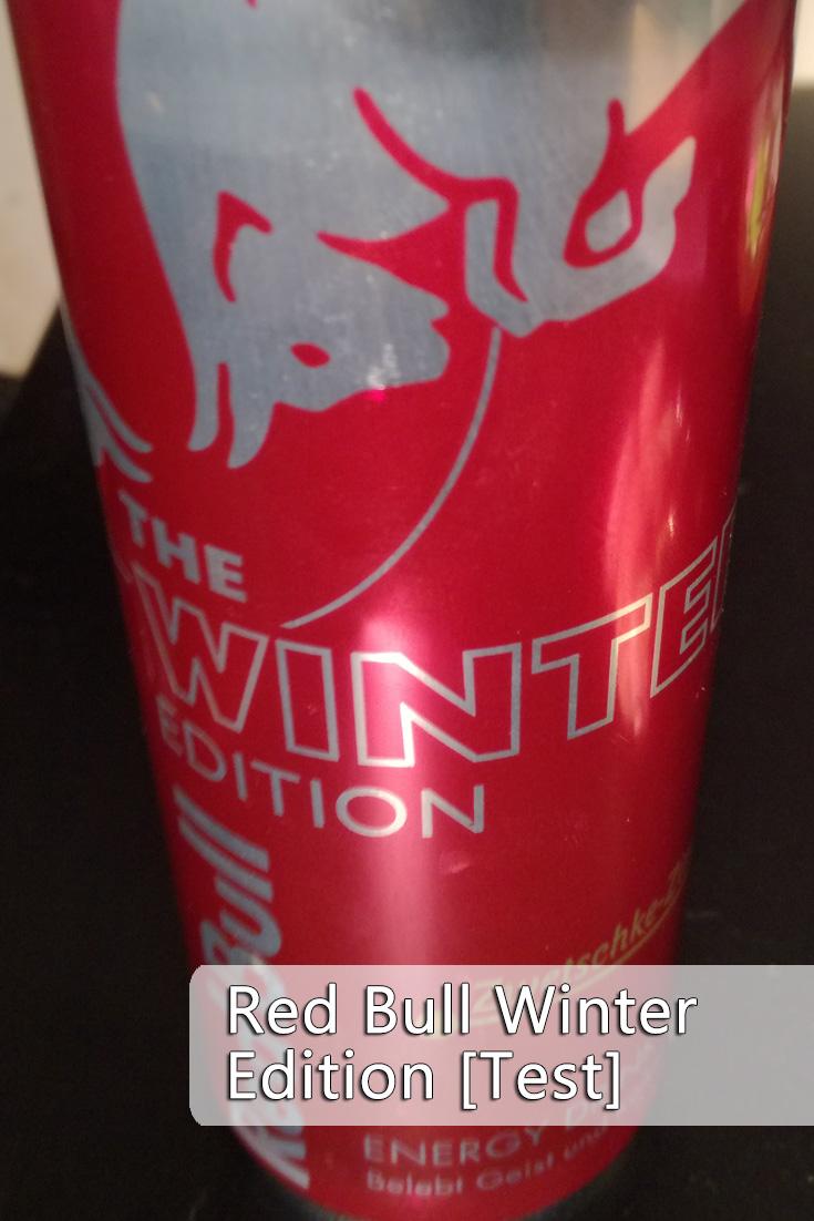 Ich bin keine Fan von Red Bull, aber die Winter Edition 2016 erreicht einen neuen Level an Geschmacksverwirrung.