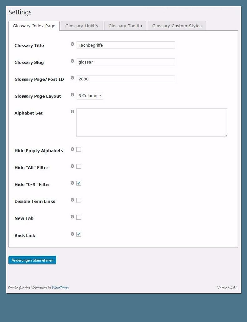 Wie richte ich ein Glossar für meine WordPress Seite ein? Plugin & SEO Tipps
