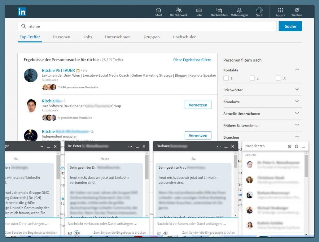 Das neue LinkedIn Design: Alle Funktionen, alle Neuerungen