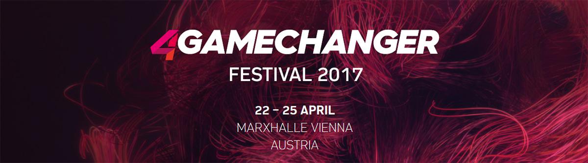 Gratis zum 4GAMECHANGER Festival 2017 - datenschmutz verlost 1 Ticket [GEWINNSPIEL]