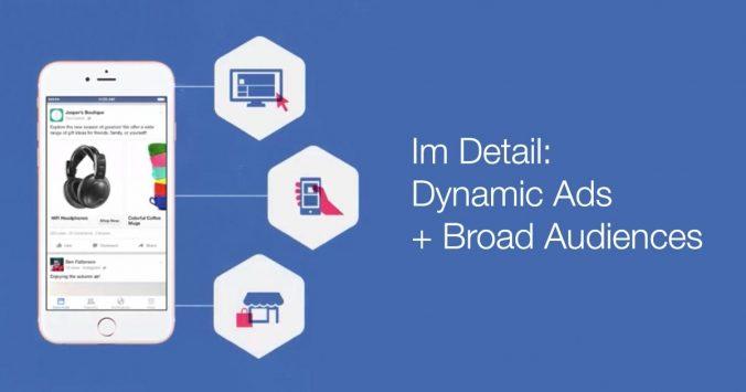 Dynamische Werbung für breite Zielgruppen