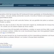 Amazon macht Schluss mit dem BuyVIP Affiliate Programm