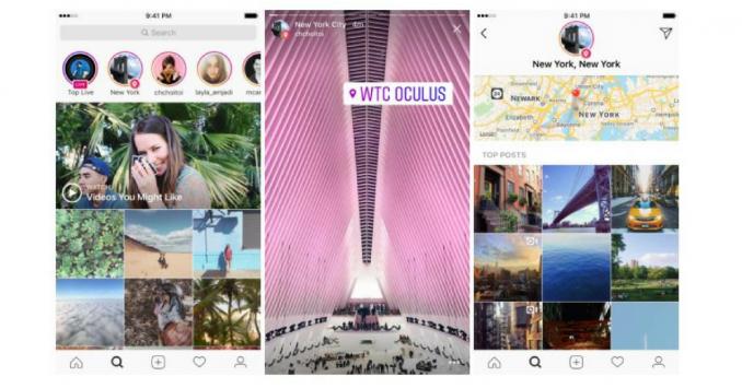Neu auf Instagram: Location und Hashtag Stories
