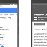 Google startet Job-Metasuche in den USA
