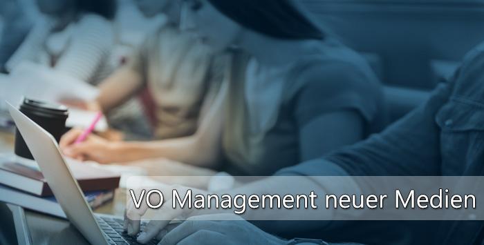Vorlesung: NEUMAN - Management neuer Medien (Wintersemester 2017/18)