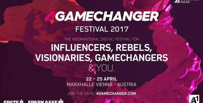 4GAMECHANGER Festival 2017: Gewinnen Sie Ihr Ticket