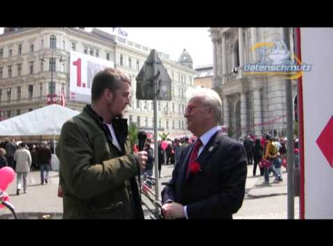 Interview mit EU-Wahl Spitzenkandidat Hannes Swoboda