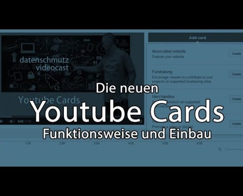 Wie funktionieren Youtube Cards? [Videopodcast]