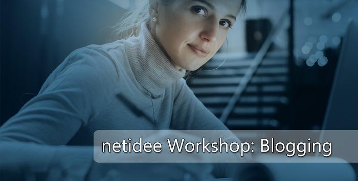 Blogging Workshop für geförderte Projekte
