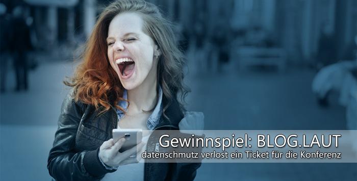 Gewinne ein Ticket für die Bloglaut!