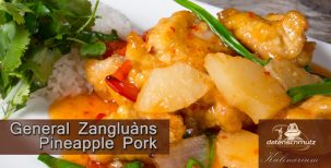General Zangluans Pineapple Pork