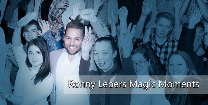 Ronny Leber: Entertainer und Inspirateur