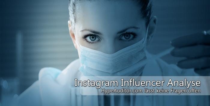 Instagram Auditor zeigt die wichtigsten Influencer-Metriken auf einen Blick.