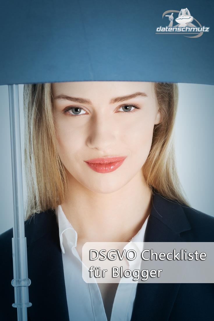 DSGVO-Checkliste für Blogger