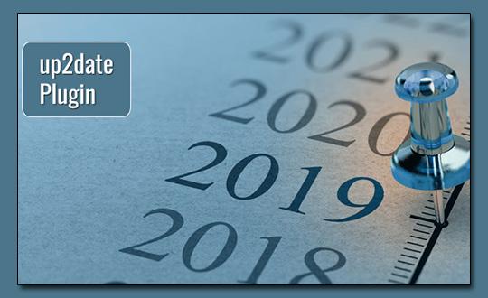 up2date - Aktualisierungsdatum für WordPress Beiträge