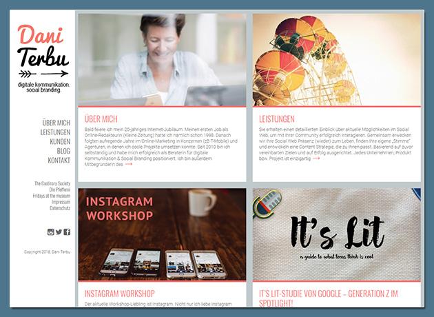 Dani Terbu - Digitale Kommunikation & Social Branding