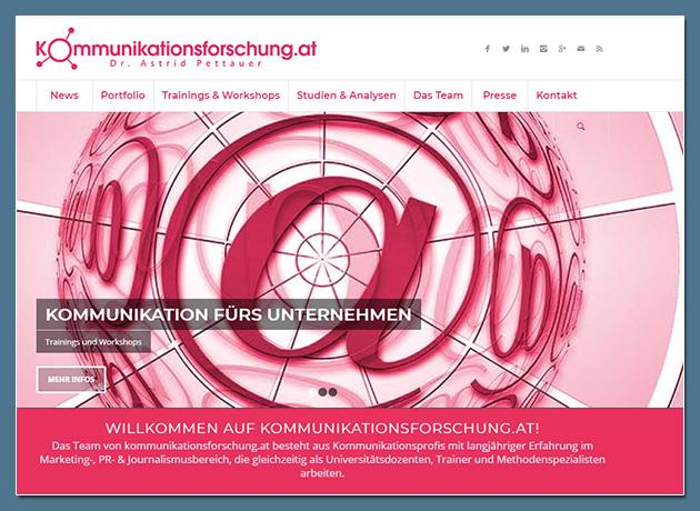 Dr. Astrid Pettauer - Kommunikationsforschung.at