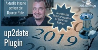 up2date WordPress Plugin: Automatisches Aktualisierungsdatum für Blogbeiträge