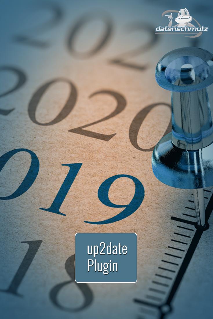 up2date Plugin: Aktualisierungsdatum für WordPress-Beiträge