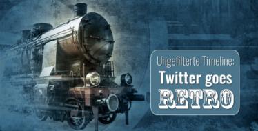 Twitter: Die chronologische Timeline kommt zurück