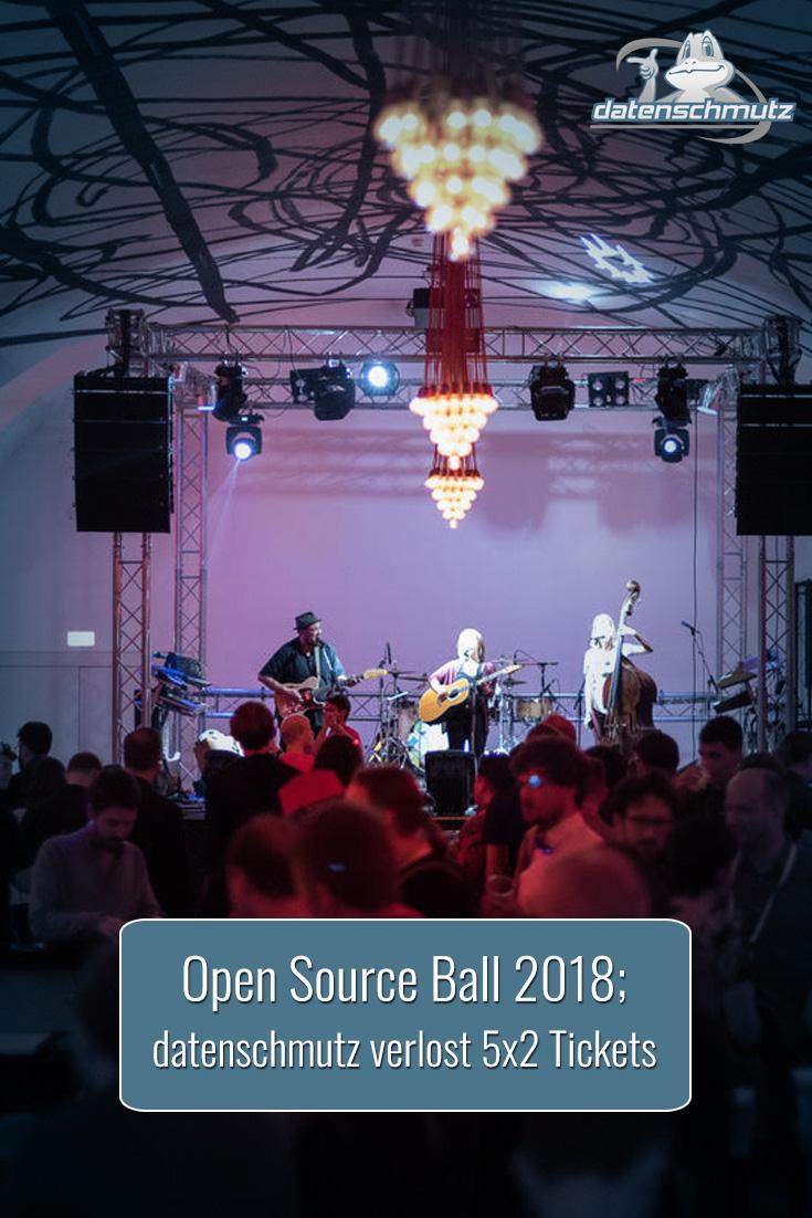 Gewinne 2 Tickets für den Open Source Ball am Freitag!