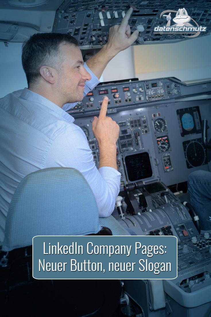 Update für LinkedIn Company Pages mit neuen Funktionen: Slogan, Call-to-Action Button und vorgeschlagene Inhalte.