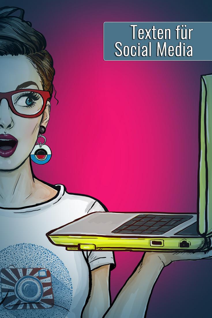 Texten für Social Media / Tagesworkshop mit Dr. Astrid Pettauer