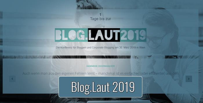 Blog.Laut Konferenz 2019