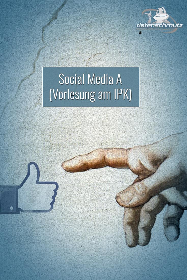 Vorlesung: Social Media A - Bachelor-Vorlesung am Institut für Publizistik- und Kommunikationswissenschaft der Universität Wien.