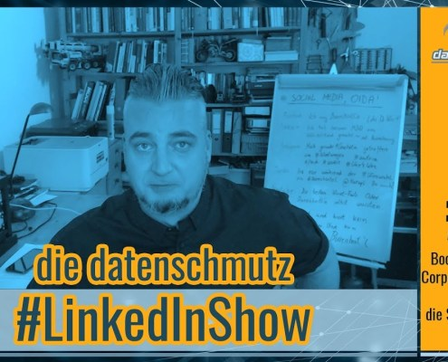datenschmutz #LinkedInShow #3 | LinkedIn Suche & Boolesche Algebra
