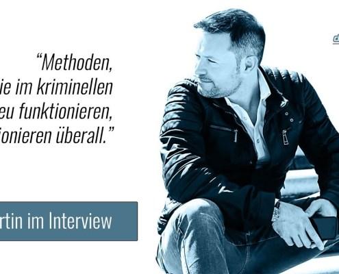 Ex-Geheimagent Leo Martin im datenschmutz-Interview