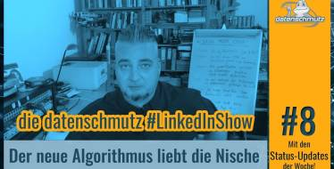 datenschmutz #LinkedInShow #8 | Der neue Newsfeed-Algorithmus (inkl. Publishing-Tipps)